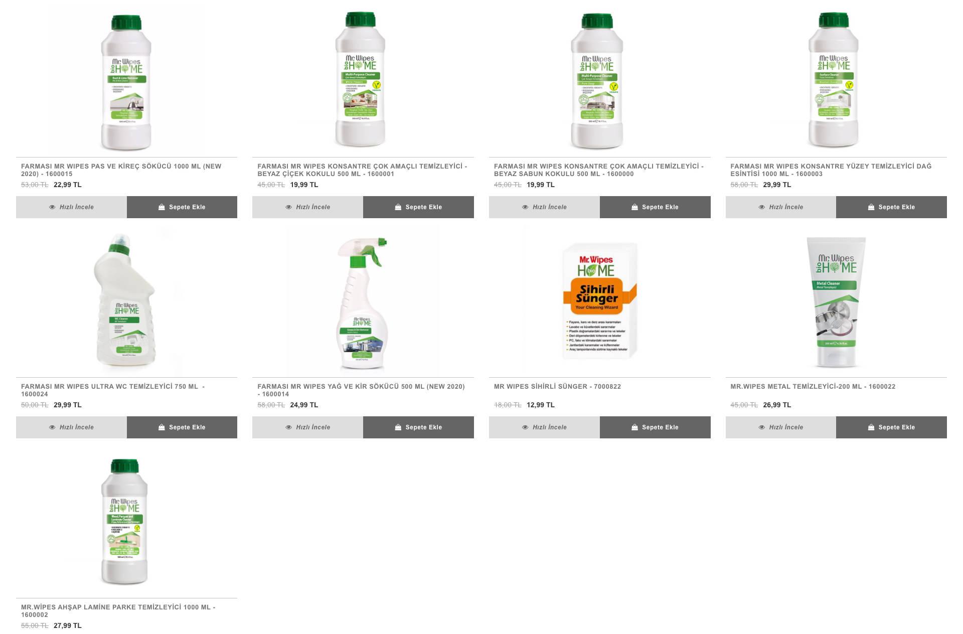 farmasi yüzey bakım ürünleri